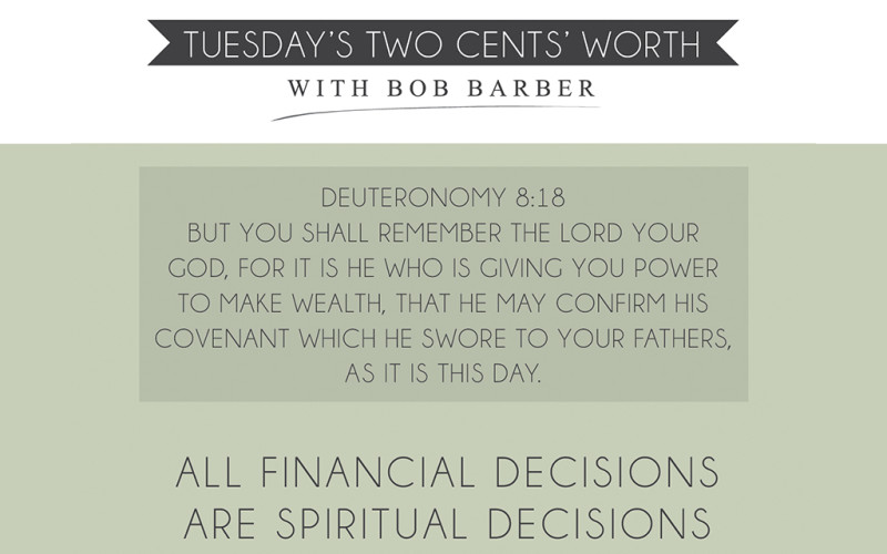 Tuesday's Two Cents June 4, 2013