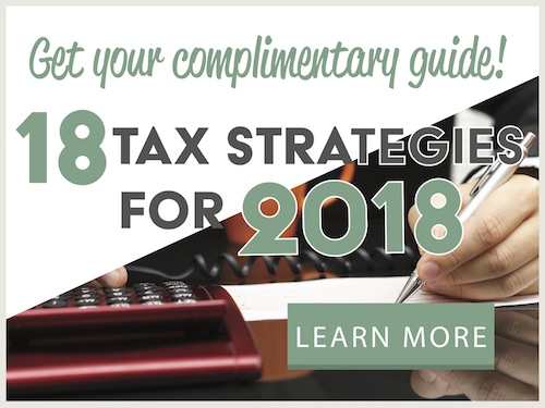 18 Tax Strategies for 2018
