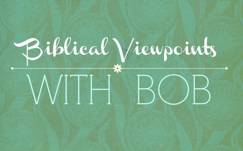 Biblical Viewpoints with Bob – The Giving View
