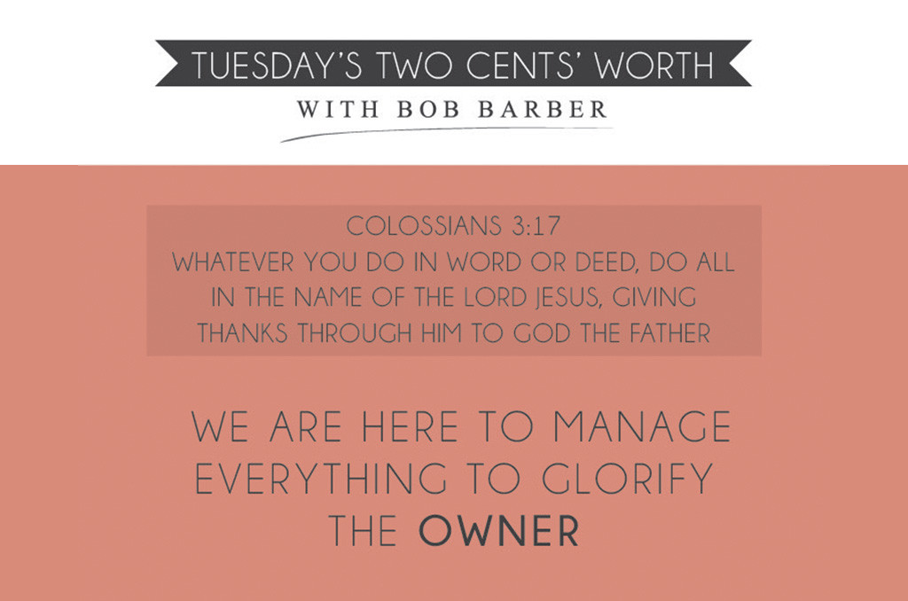 Tuesday's Two Cents' Worth July 30, 2015