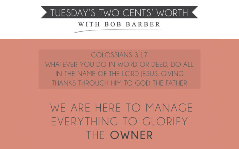 Tuesday's Two Cents Worth July 30, 2013