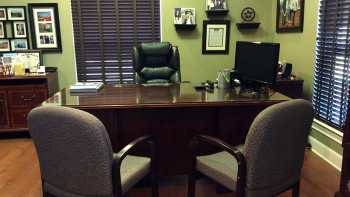 Bob's office and meeting area