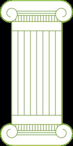 pillar green