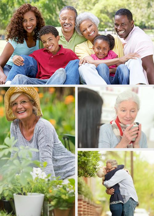 retirement planning Collage