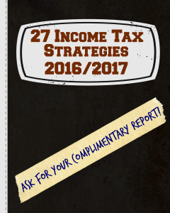 Income Tax Strategies Report