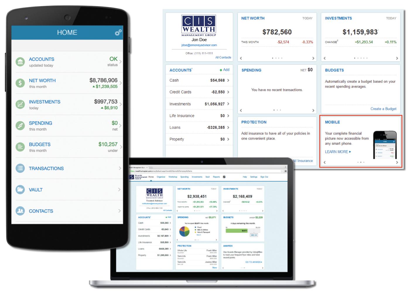 Christian Financial Advisors System