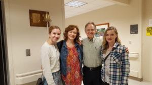 Jerelyn, Rachael, Bob & Jenna
