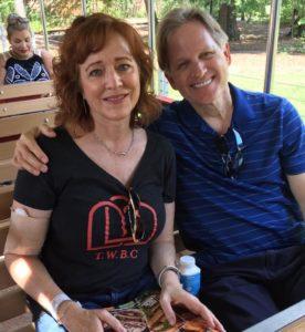 Bob & Rachael enjoying the Houston Zoo