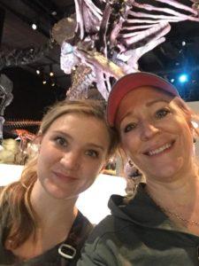 Jenna & Rachael enjoying the Houston Museum of Natural Science
