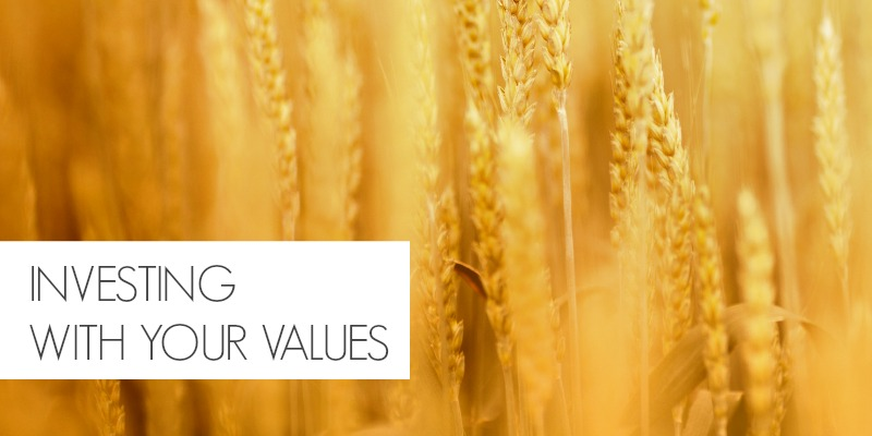 Invest with your values