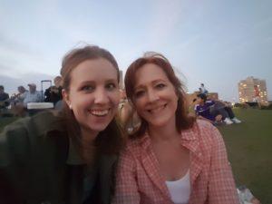 Jerelyn & Rachael at Hermann Park