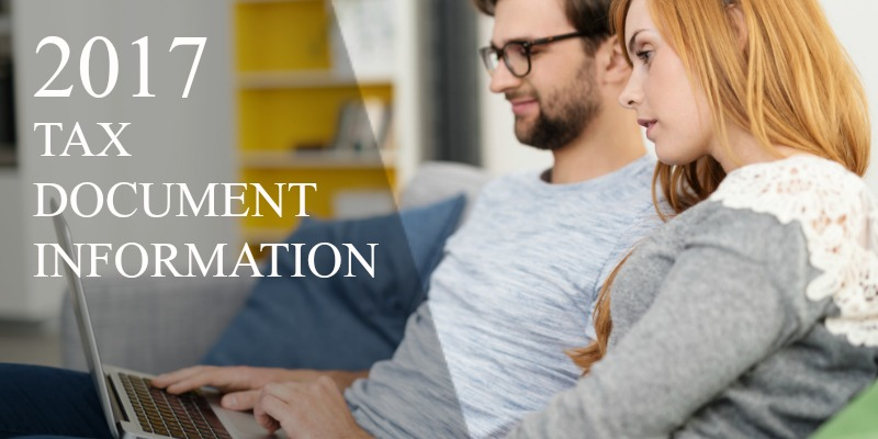 2017 tax document information