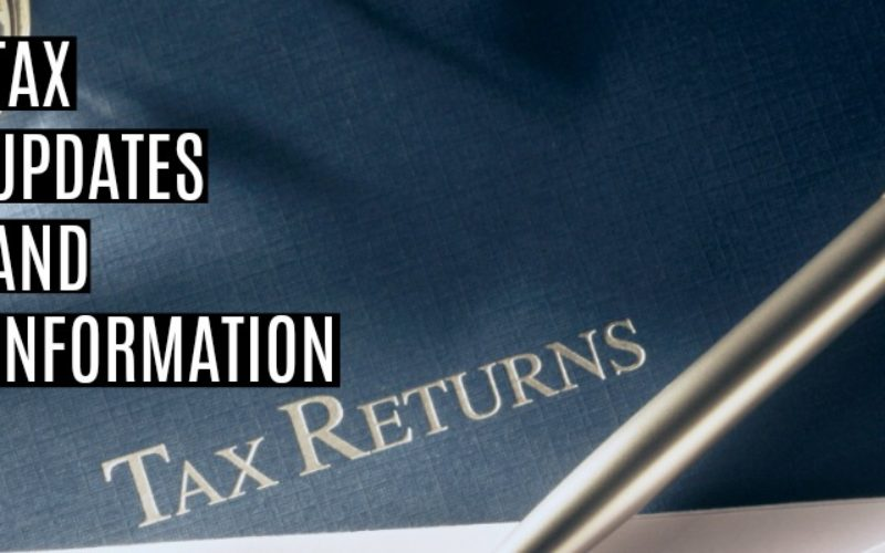 Tax Updates and Information