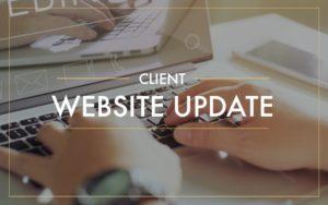 personal financial website update