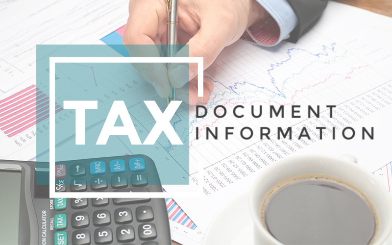 Tax Document Information