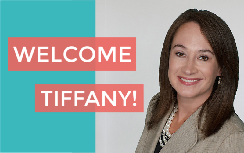 Welcome Tiffany Baer