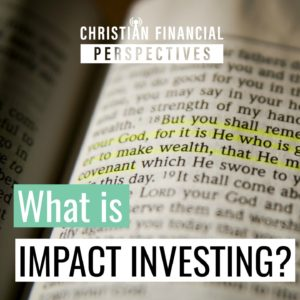 what is impact investing