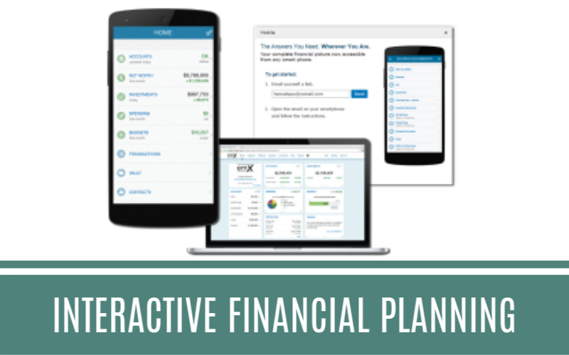 Interactive Financial Planning through eMoney