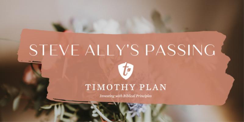 Steve Ally's Passing
